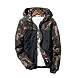 Banana Bucket Floral Bomber Camouflage Jacket Men Hip Hop Slim Fit Flowers Bomber Jacket Coat Men's