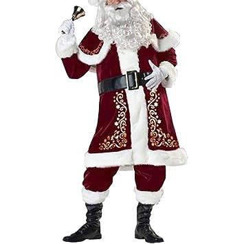 mnoMINI - Disfraz de Navidad para Hombre de Franela, con Sombrero ...