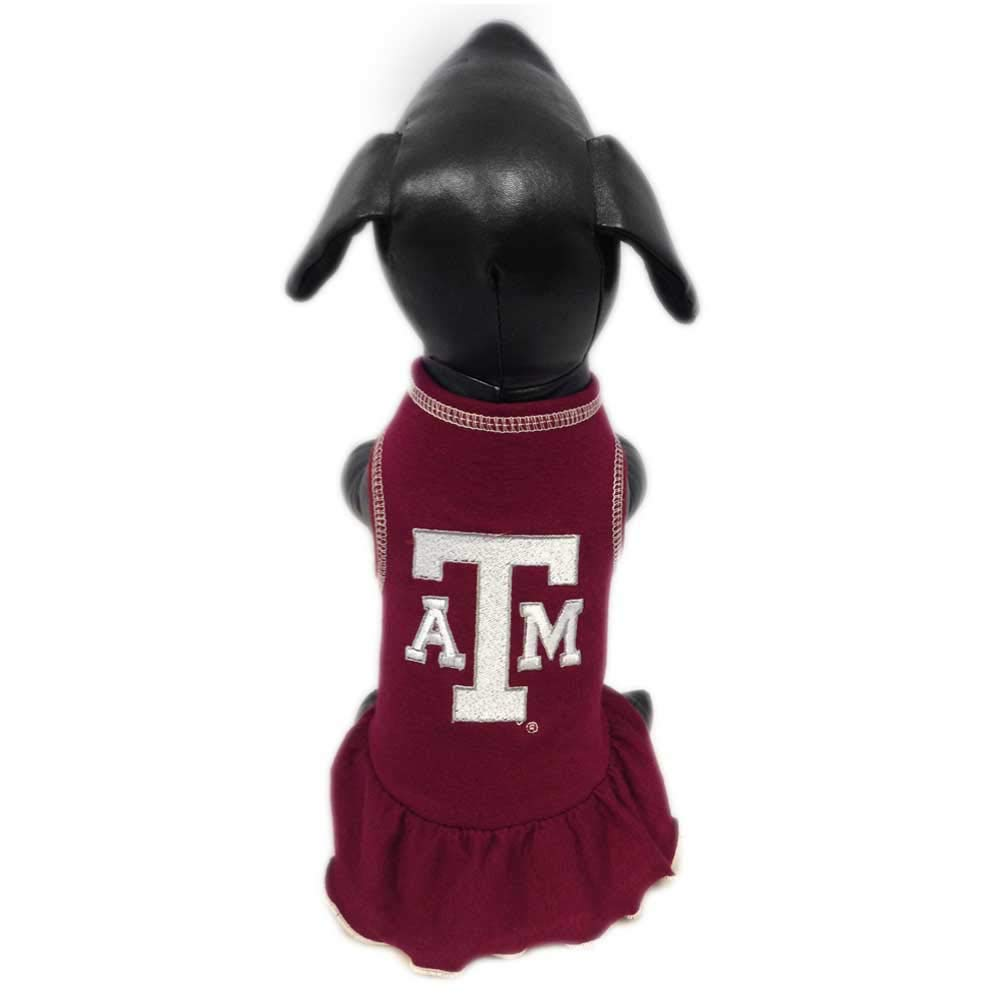 Team color X-Large Team color X-Large NCAA Texas A&M Aggies Cheerleader Dog Dress