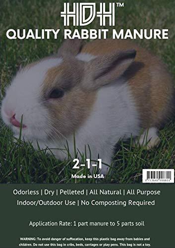 (HDH Quality Rabbit Manure)