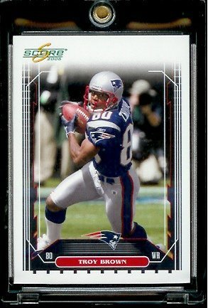 2006 Score Factory Set Single Card # 171 Troy Brown - New England Patriots - NFL Football Cards ()