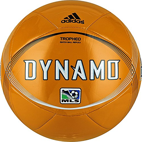 Dynamo Ball - Houston Dynamo Adidas Tropheo Replica Soccer Ball - Size 4