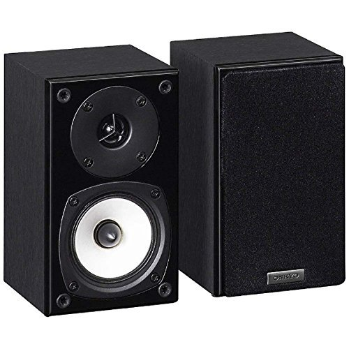ONKYO surround speaker system (1 unit) D-109XM (B) (Black) by Onkyo