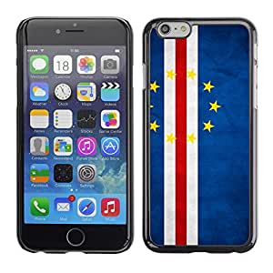"""Shell-Star ( National Flag Series-Cape Verde ) Snap On Hard Protective Case For 4.7"""" iPhone 6"""