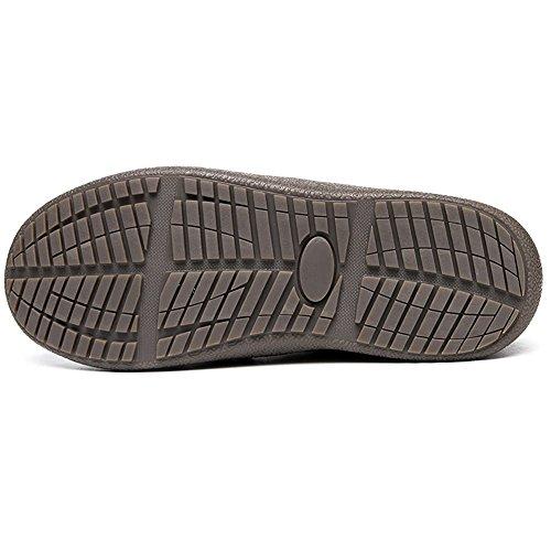 Gaatpot Bottines De Neige Hiver Fourrées Chaud,Outdoor Sports Imperméable  Boots Marche,Chaussures de a04b0ecb14c9