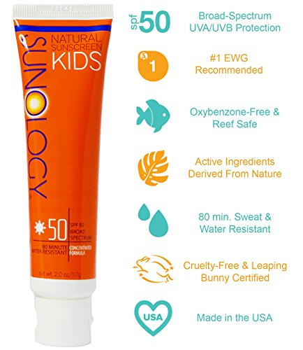 Sunology-Kids-Baby-Safe-Mineral-Sunscreen-SPF-50-Broad-Spectrum-Lotion-2-Ounce-Tube