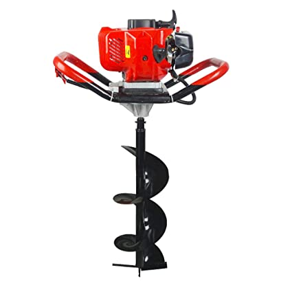 Amazon Com Mxbaoheng 71cc Gas Powered Post Hole Digger Earth Auger
