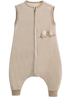 004251a81f baby schlafsack sommer Frühling mädchen junge schlafanzug baumwolle dünner  neugeboren Pyjamas Weiß- 0.5 tog.