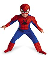Spiderman Toddler Muscle Costume