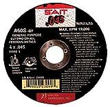 United Abrasives 5'' X No Hole 40X Grit Z-X Sait Zirconium Premium Closed Coat PSA Disc