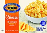 Microwave Cheese Popcorn - Preferred Popcorn - 100% Farmer Owned - Non GMO - Gluten Free - Whole Grain - One 3.0 oz Bag - Made in USA - Made in Nebraska - Real Cheese Flavor - Cheesy Snack