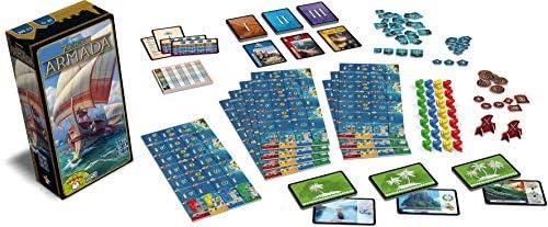 Asmodee- 7 Wonders: Armada SEVFR06, Extensión , color/modelo surtido: Amazon.es: Juguetes y juegos