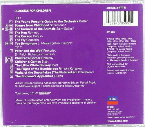 Classics For Children (2 CD) by Decca