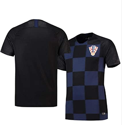 Amazon.com : FFYYJJLEI 2018 Football Uniform Croatia Away ...