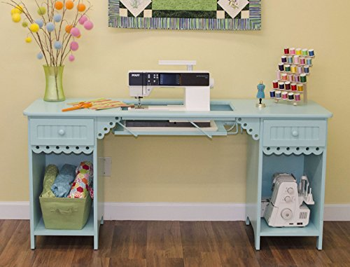 wing Cabinet in Tiffany Blue (Optional Cubby)