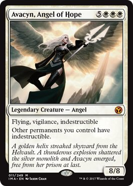 Avacyn, Angel of Hope - Iconic Masters by Wizards of the Coast