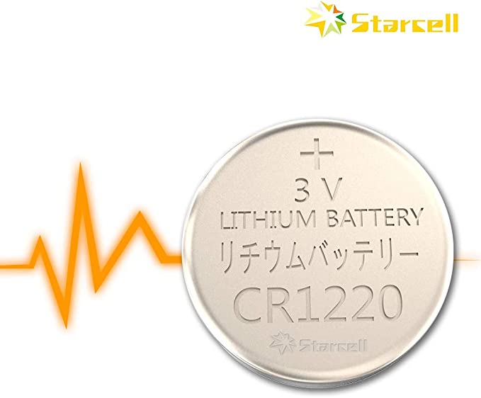 MediaRange MRBAT134 household battery Single-use battery CR1220 Litio 3 V Pilas s Single-use battery, CR1220, Litio, Bot/ón//moneda, 3 V, 5 pieza