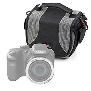 DURAGADGET Portable Carry Case with Padded Interior and Shoulder Strap for Kodak Pixpro AZ252 | AZ365 | AZ521 | AZ522 | AZ525 | AZ651 | FZ201 | FZ41 | FZ51 | WP1 Sport | AZ251 | Pixpro AZ251 Camera