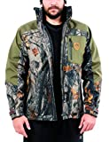 ARES SPORT Camo Hunting Jacket, Men's 2-in-1 Soft Shell Military Tactical Jacket with Camouflage Outer Coat &...