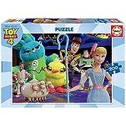 51nk1i005OL. SS177 Puzzle de 200 piezas, horas de diversión y entretenimiento; dimensión aproximado del puzzle montado: 40 x 28 cm Puzzles inspirados en Toy Story 4 Compuestos por grandes piezas, óptimo acabadas para que sea sencilla y segura su manipulación por los niños