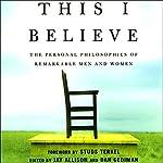 This I Believe | Jay Allison,Dan Gediman