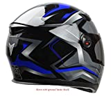 Vega Helmets AT2 Street Motorcycle Helmet for Men & Women – DOT Certified Full Face Motorbike Helmet for Cruisers Sports Street Bike Scooter Touring Moped Moto