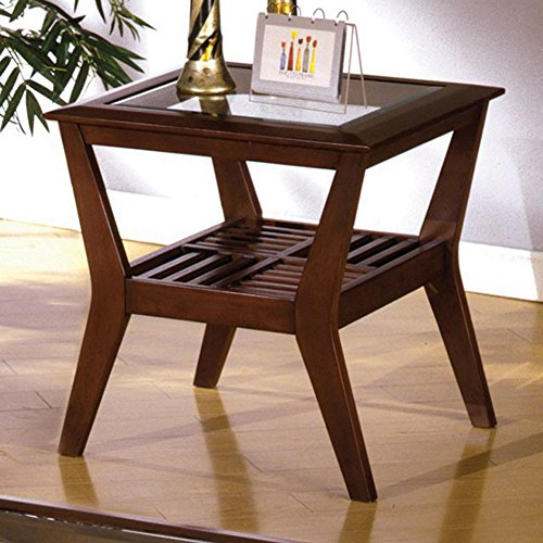 Furniture of America CM4664E Virginia Beach End Table Side/Nesting