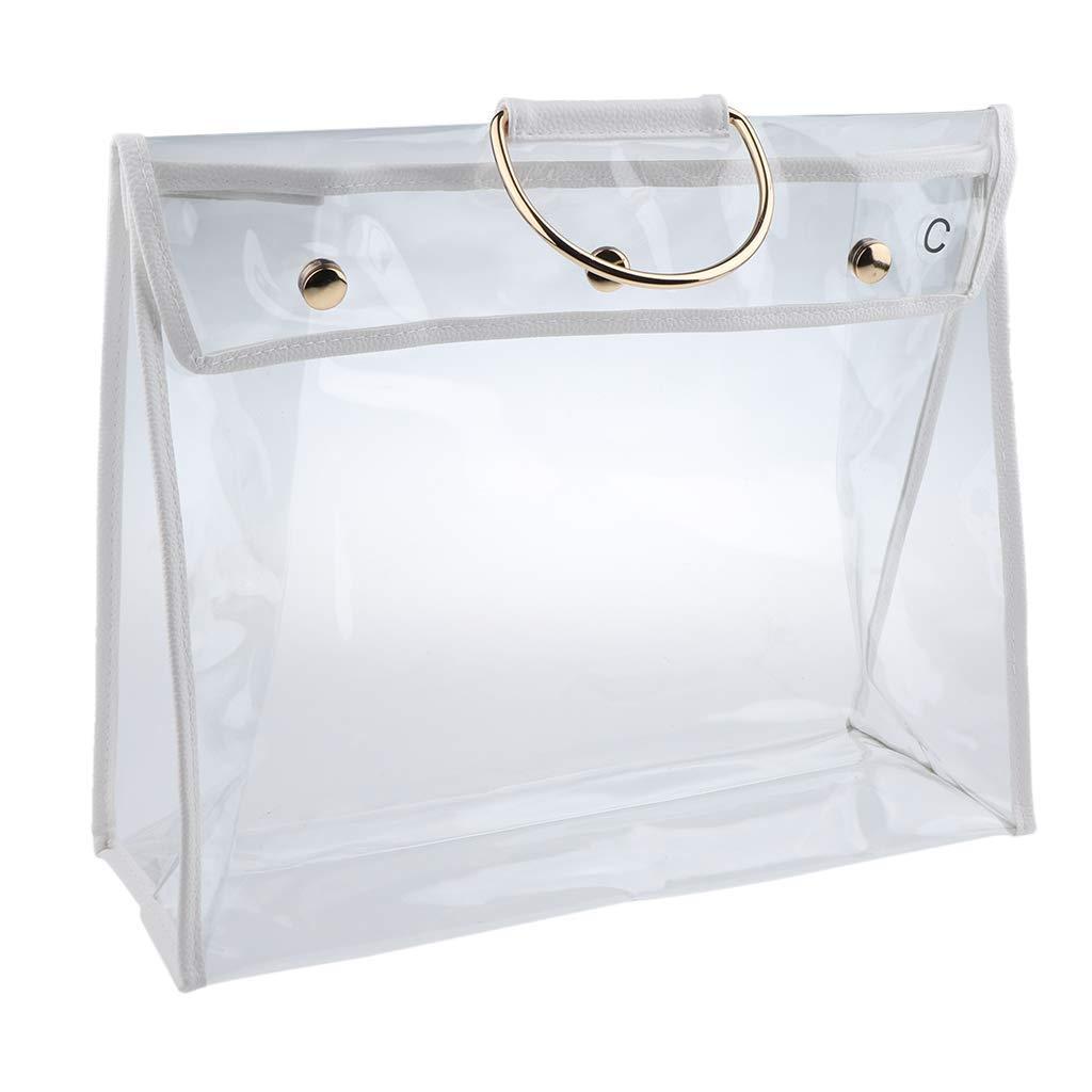 Transparent Dust Bag Clear Purse Organizer Dustproof Handbag Wardrobe Hook Holder Valentine's Day