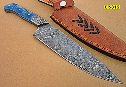 poshland-handmade-damascus-steel-chef-knife-bone-handle-with-damascus-steel-bolsters