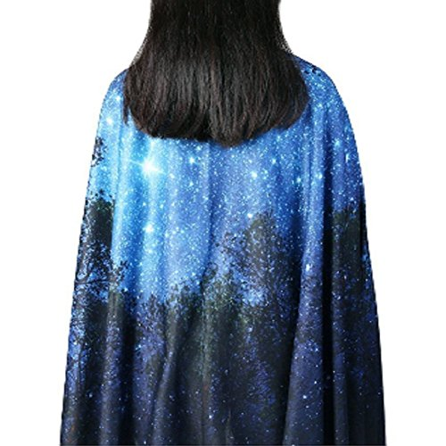 Forest Starry Tapestry Wall Tapestry Wall Hanging Galaxy Tapestry Hippie Milky Way Tapestry Sky Tapestry Tree Tapestry Night Sky Tapestry Mandala Bohemian Tapestry for  Bedroom Dorm Decor by Sunm boutique (Image #4)