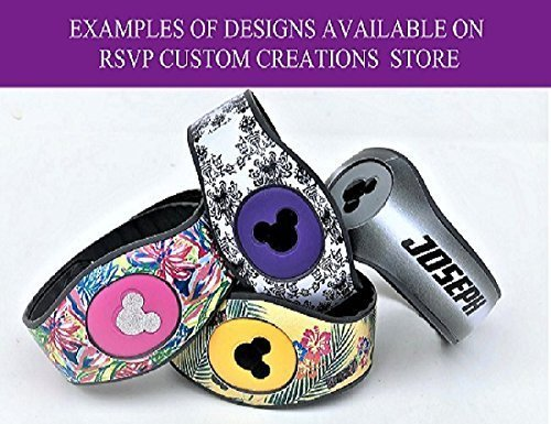 Vinyl Skin Decal Wrap Sticker Cover for the MagicBand 2 Magic Band 2 Wonderland Themed Alice Hatter
