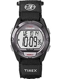 Men's T49949 Expedition Digital CAT Black Fast Wrap Watch