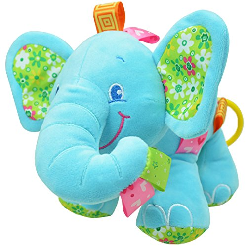 [BYP Musical Plush Elephant Doll Toys Pull Baby Toys Car Seat Toys] (Elephant Costume 4 Year Old)