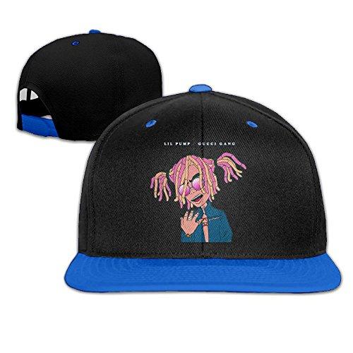 G-Gang LIL Pump Gang Unisex Flat Brim Baseball Hats 100% Cotton Adjustable  Hip e5f44bf7e39c