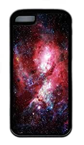 Apple iPhone 5C Case and Cover - Dat Nebula TPU Case Cover For iPhone 5C - Black