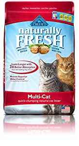 BLUE Naturally Fresh Multi-Cat Quick-Clumping Cat Litter 26-lb