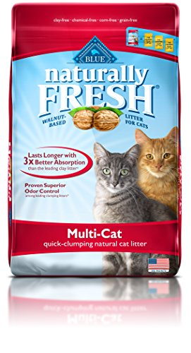 BLUE Naturally Fresh Multi-Cat Quick-Clumping Cat Litter 14-lb
