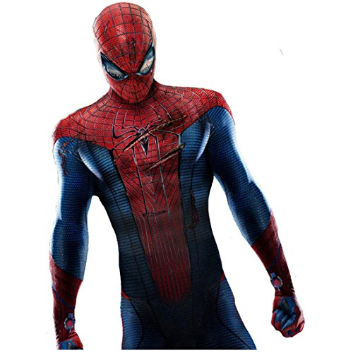 The Amazing Spider-Man Andrew Garfield Standing with Head Down in Ripped Suit 8 x 10 Inch Photo -