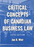 Critical Concepts of Canadian Busines...