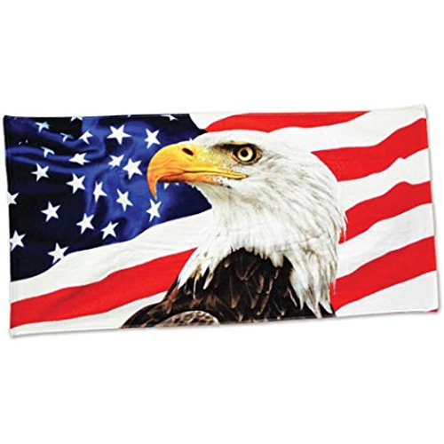 Tapestry Towel,Elevin(TM) Summer American Eagle New 100 Dollar Bill Velour Brazilian Cotton Beach Towel 30x60 Inches Air Conditioning Scarf (Multicolor)