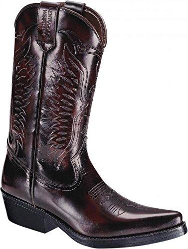 """Kentucky Damen-Stiefel """"Red Eagle"""". bordeaux Größe 044"""