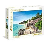 Clementoni 39413 High Quality Collection Puzzle Paradise Beach 1000 Pezzi