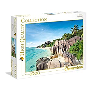 Clementoni 39413 High Quality Collection Puzzle Paradise Beach 1000 Pezzi