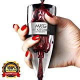 Wine Aerator Decanter Pourer with Stand For Red and White Wine By My Kitchen Gadget, Gift Box and Velvet Travel Pouch.