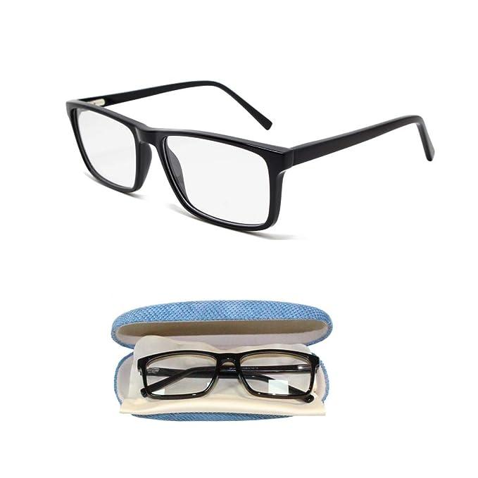 3fe731dc67 Coolais Eyeglasses Men Eyewear Frames Women Unisex Optical Frame with Non- Prescription Clear Lens AOF