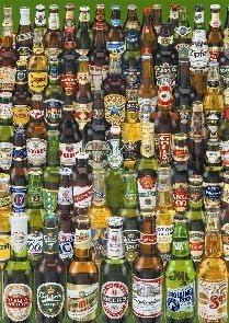 Educa Borras - Genuine Puzzles, Puzzle 1.000 piezas, Cervezas (12736): Amazon.es: Juguetes y juegos