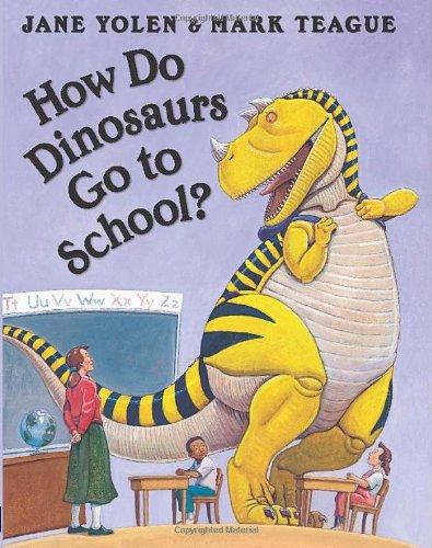 How Do Dinosaurs Go to School
