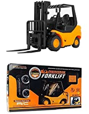 RC Forklift with Lifting Arm Radio Remote Controlled Mini Engineering Truck Industry Fork Car