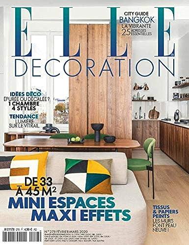Elle Decoration French Edition Amazon Com Magazines