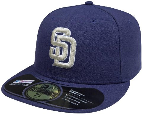 on sale 30fa8 1c198 Amazon.com   MLB San Diego Padres Authentic On Field Road 59FIFTY Cap    Sports Fan Baseball Caps   Clothing